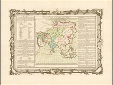 Asia and Asia Map By Buy de Mornas