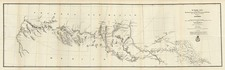 Texas, Southwest and California Map By L.C. Overman / U.S. Army Corps of Engineers