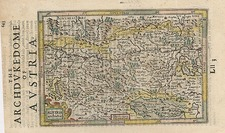 Europe and Austria Map By Henricus Hondius - Gerhard Mercator
