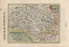 Europe, Austria and Balkans Map By Henricus Hondius - Gerhard Mercator