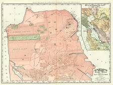 California Map By William Rand  &  Andrew McNally
