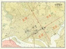 Mid-Atlantic Map By Rand McNally & Company