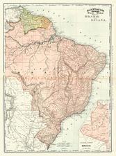 South America Map By Rand McNally & Company