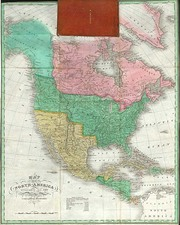 Southwest, Rocky Mountains and North America Map By Anthony Finley