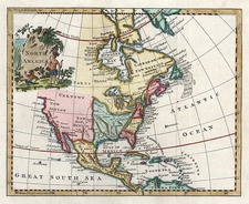 North America Map By Thomas Kitchin