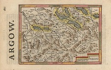 Europe and Switzerland Map By Jodocus Hondius - Michael Mercator