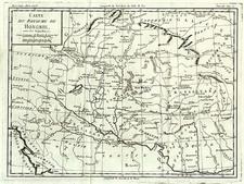 Europe, Hungary, Romania and Balkans Map By Joseph De La Porte
