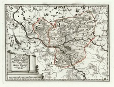 Europe and Poland Map By Franz Johann Joseph von Reilly