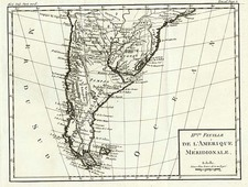 South America Map By La Harpe