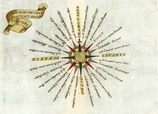World, Curiosities and Celestial Maps Map By Vincenzo Maria Coronelli