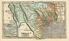 Texas Map By Ensign