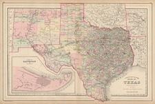 Texas, Plains and Southwest Map By William Bradley
