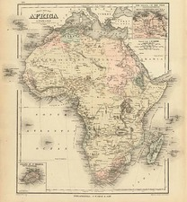 Africa and Africa Map By Frank A. Gray