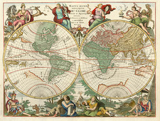 World and World Map By Jan Barend Elwe