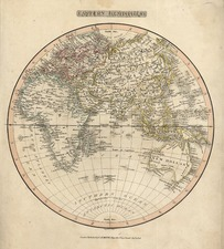 World, Eastern Hemisphere, Australia & Oceania and Oceania Map By Charles S. Smith