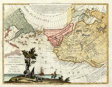 World and Pacific Map By Antonio Zatta
