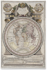 World and Globes & Instruments Map By A. Duplessis