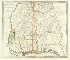 South Map By Mathew Carey