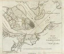 Southeast Map By Banastre Tarleton