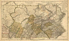 Mid-Atlantic Map By Daniel Friedrich Sotzmann
