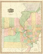 Midwest and Plains Map By Henry Schenk Tanner