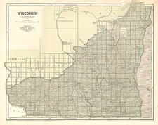 Midwest Map By Sidney Morse  &  Samuel Breese