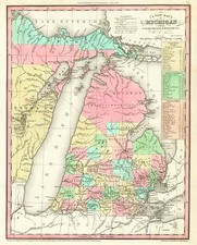 Midwest Map By Henry Schenk Tanner