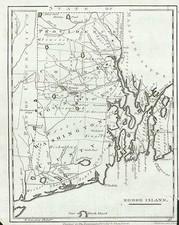 New England Map By John Payne