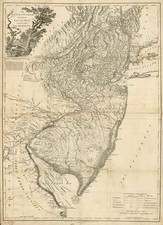 Mid-Atlantic Map By Julius Bien / William Faden