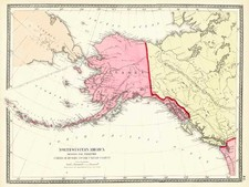 Alaska and Canada Map By Gray  &  Henry Francis Walling