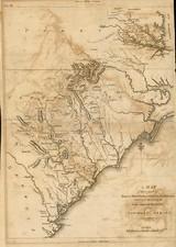 Mid-Atlantic and Southeast Map By C.P. Wayne / John Marshall