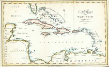 Caribbean Map By Jedidiah Morse