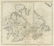 New England, Midwest and Canada Map By Mathew Carey