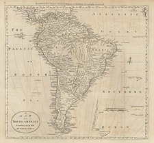 South America Map By Mathew Carey