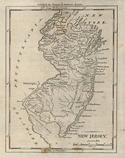 Mid-Atlantic Map By Samuel Morse