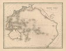World, Australia & Oceania, Pacific, Australia, Oceania and Other Pacific Islands Map By Thomas Gamaliel Bradford