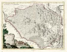 Europe and Italy Map By Antonio Zatta