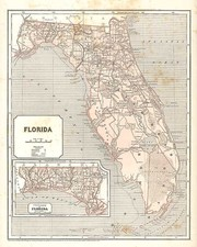 Southeast Map By Sidney Morse  &  Samuel Breese