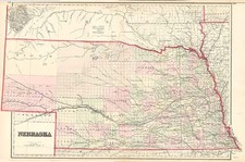 Midwest and Plains Map By G.W.  & C.B. Colton