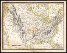 United States, Plains, Southwest and Rocky Mountains Map By Adolphe Hippolyte Dufour