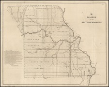 Midwest and Plains Map By U.S. General Land Office