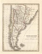 South America Map By Thomas Gamaliel Bradford