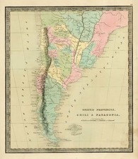 South America Map By Jeremiah Greenleaf
