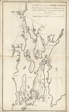 New England Map By Samuel Lewis