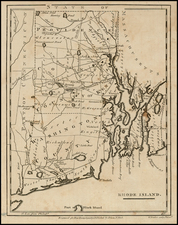 New England Map By John Payne