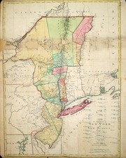 New England, Mid-Atlantic and Canada Map By Mathais Albrecht Lotter