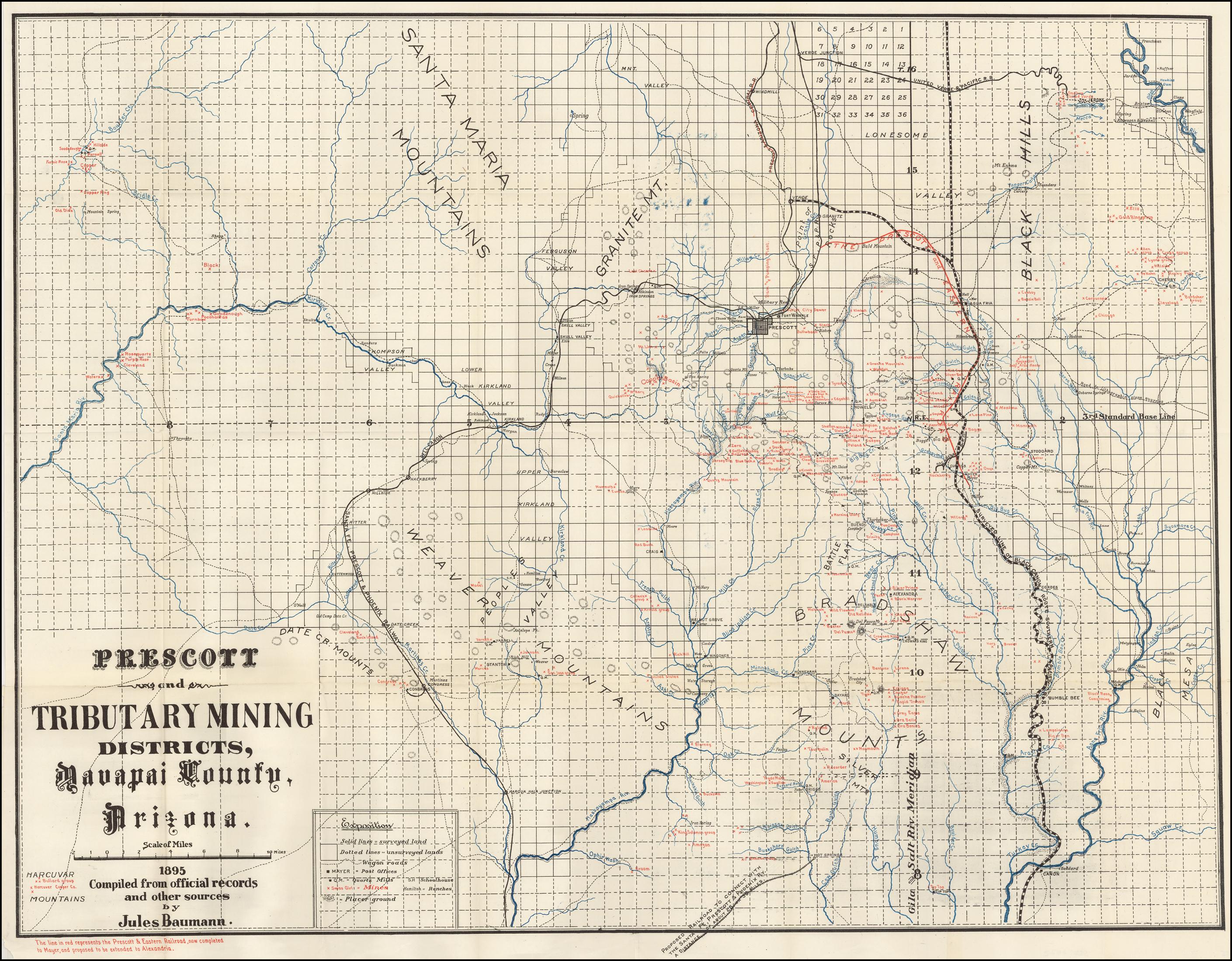 Yavapai County Arizona Railroad Maps on prescott arizona map, pinal county arizona map, sonora and arizona map, city of phoenix arizona map, state of arizona county map, cochise county arizona map, mingus mountain arizona map, arizona large color map, coconino county arizona map, mohave county arizona map, arizona county lines map, flagstaff arizona map, san juan county arizona map, mount baldy arizona map, apache county arizona map, gila county arizona map, navajo county arizona map, city of cottonwood arizona map, sun city arizona zip code map, black canyon city arizona map,