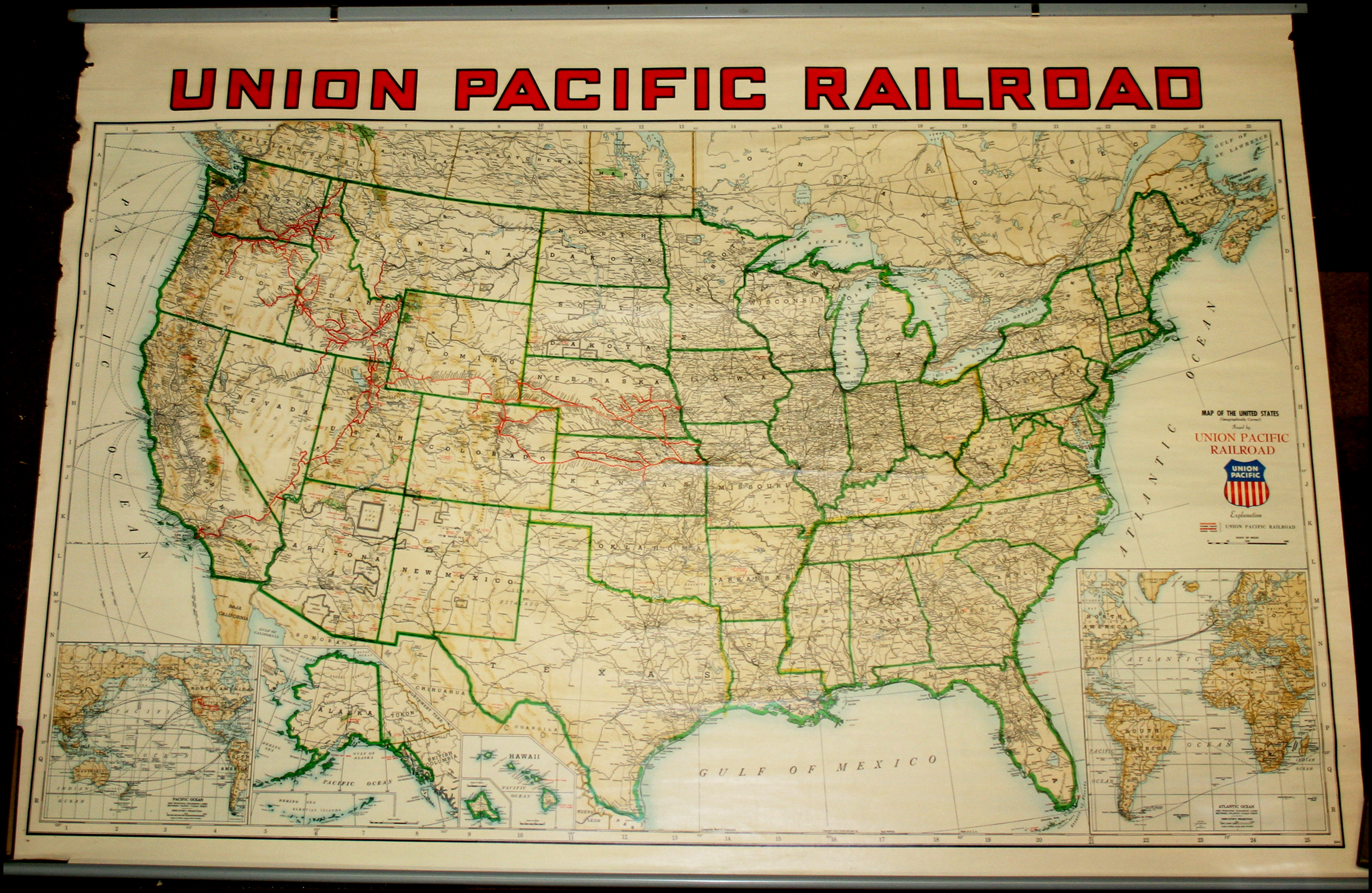 Union Pacific Railroad Map of the United States - Barry ... on union pacific business cars, union pacific idaho map, union pacific service map, rio grande railroad map utah, map of utah, union pacific rail map, union pacific train routes, gold spike utah, union pacific passenger trains, usgs map utah, union pacific dome car, union pacific track map, union pacific overland, union pacific network map, union pacific salt lake city, union pacific railway map, union pacific elko nv, union pacific nebraska, union pacific dining car menus, union pacific subdivisions map,