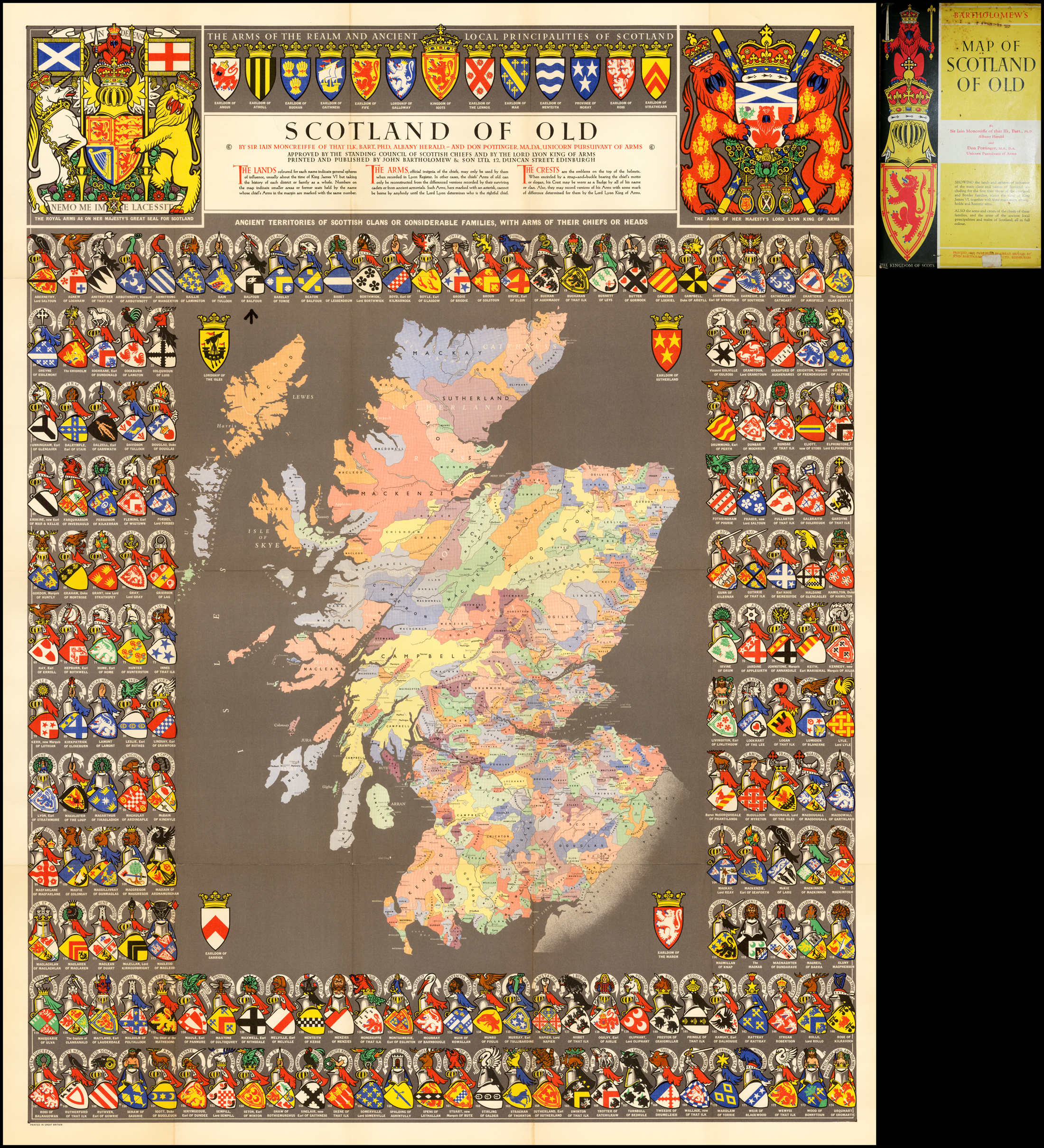Scotland of Old - Barry Lawrence Ruderman Antique Maps Inc