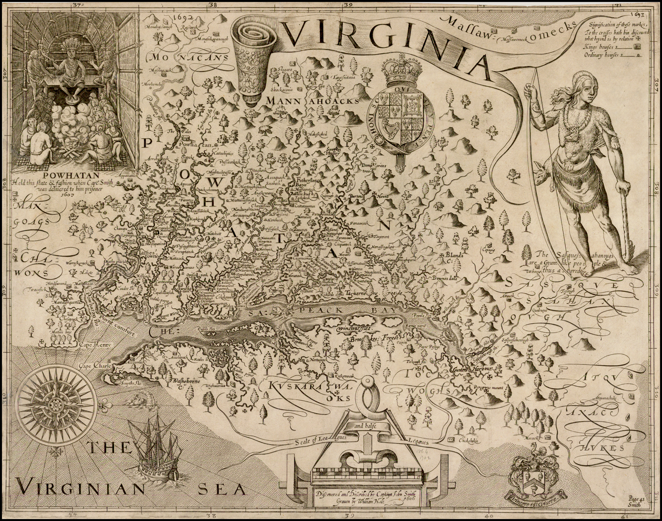 Virginia. Discovered and Discribed by Captain John Smith ... on jamestown kentucky map, roanoke settlement map, jamestown success, jamestown vs. plymouth, jamestown voyage map, jamestown geographic map, jamestown virginia colonies map, jamestown virginia america map, jamestown virginia map printable, roanoke and jamestown colonies map, jamestown on map, jamestown island map, old jamestown map, old virginia colony map, jamestown tour, jamestown colony, jamestown maps in the 1600, jamestown settled, williamsburg virginia map, 1610 jamestown virginia map,
